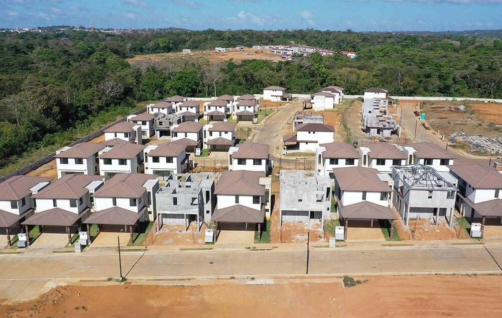 Avance de obra proyecto casas Riverview oeste panama - grupo iu (1)