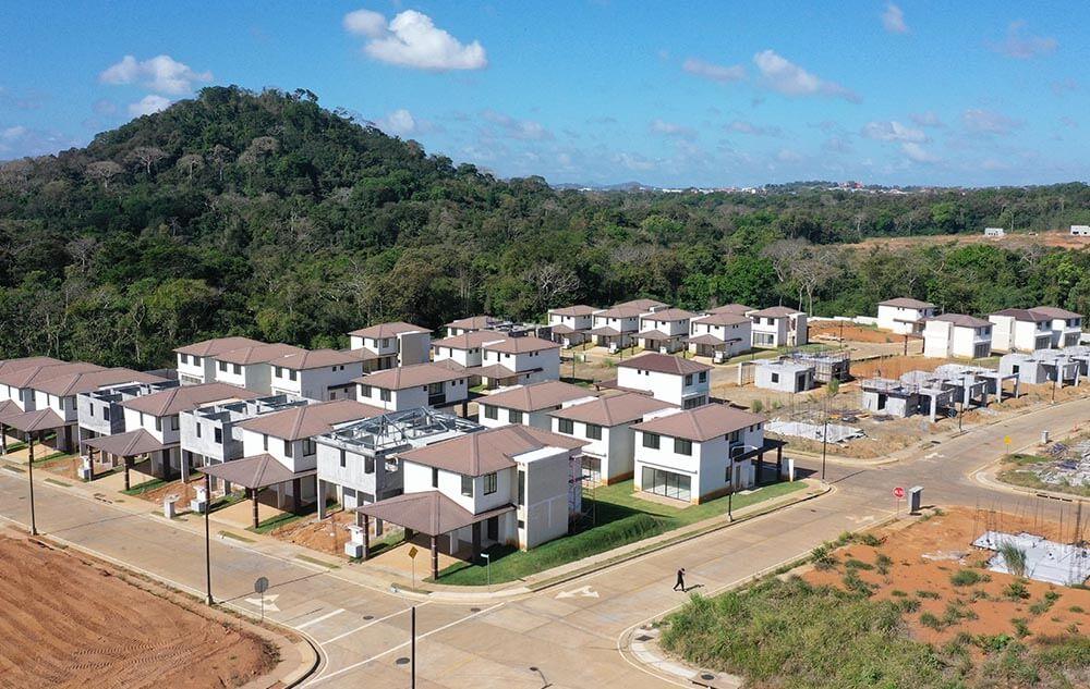 Avance de obra proyecto casas Riverview oeste panama - grupo iu (3)