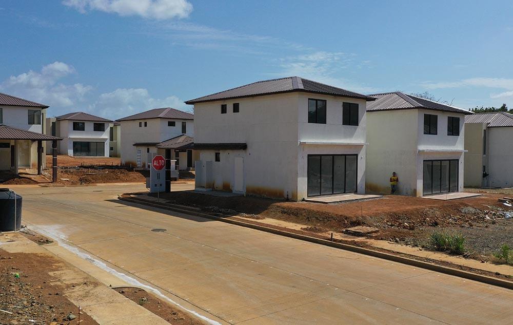 Avance de obra proyecto casas Riverview oeste panama - grupo iu (9)